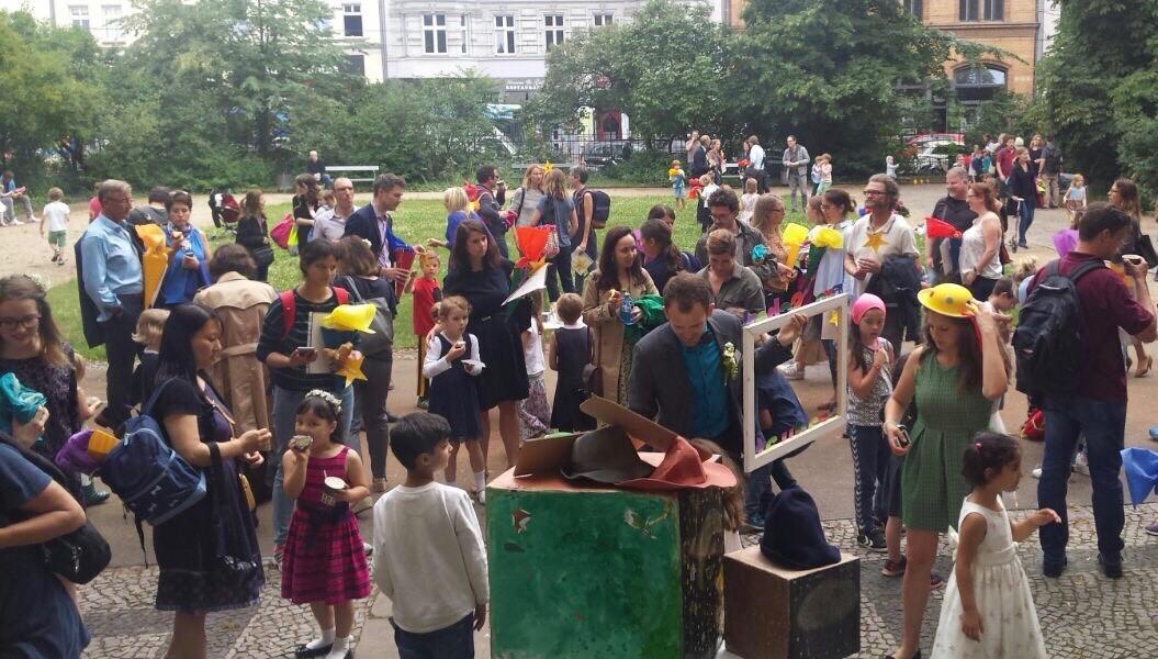 Berlin Cosmopolitan School_Kindergarten_Abschlussfeier