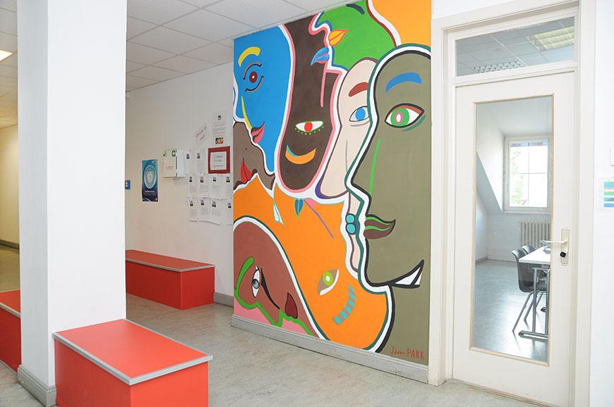 Main Building - Rückerstraße 9 - Secondary Hallway