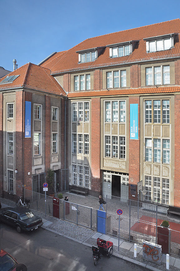Main Building - Rückerstraße 9 - Front