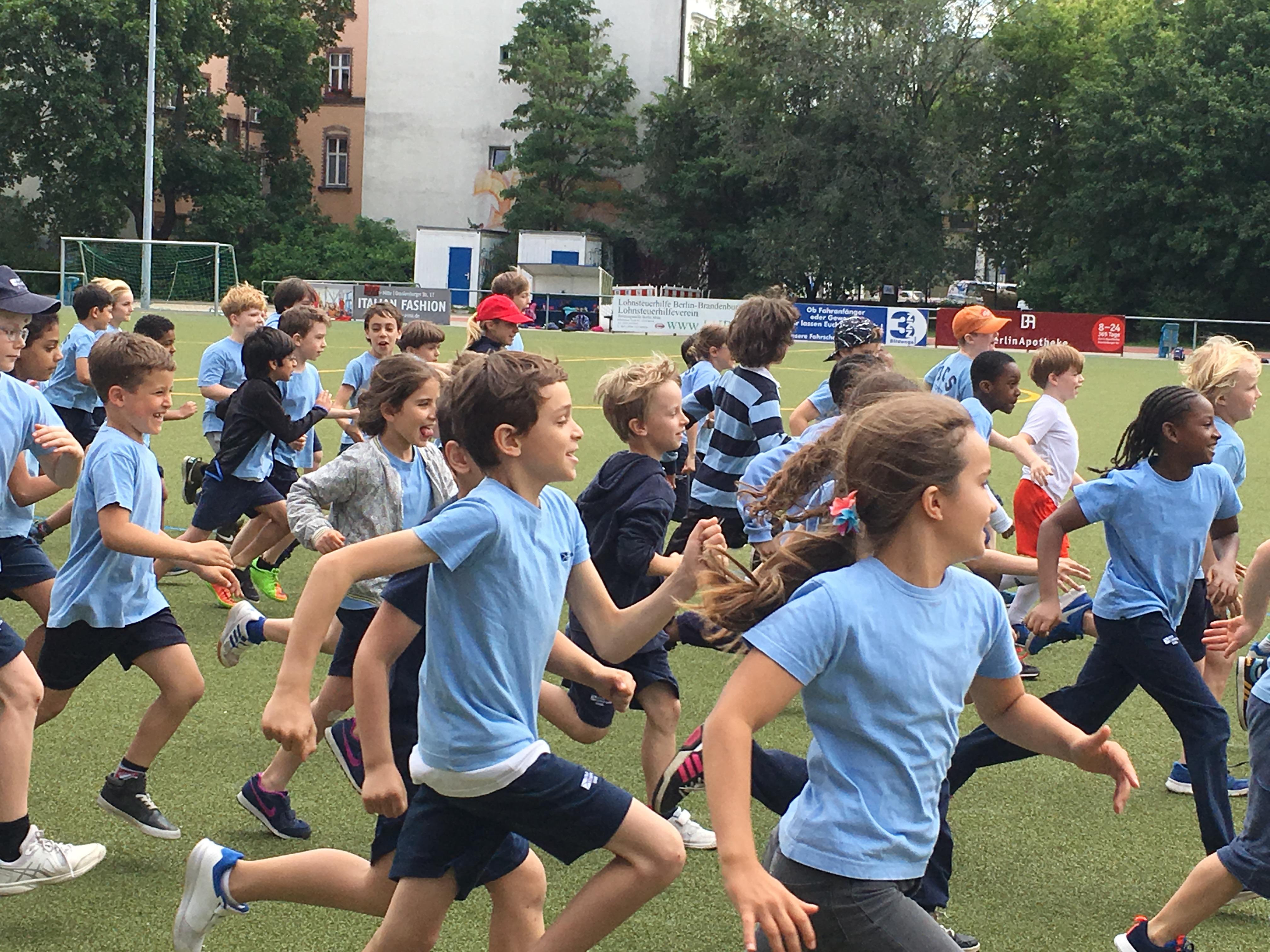 Berlin Cosmopolitan School_Primary_Grundschule_Sports Day