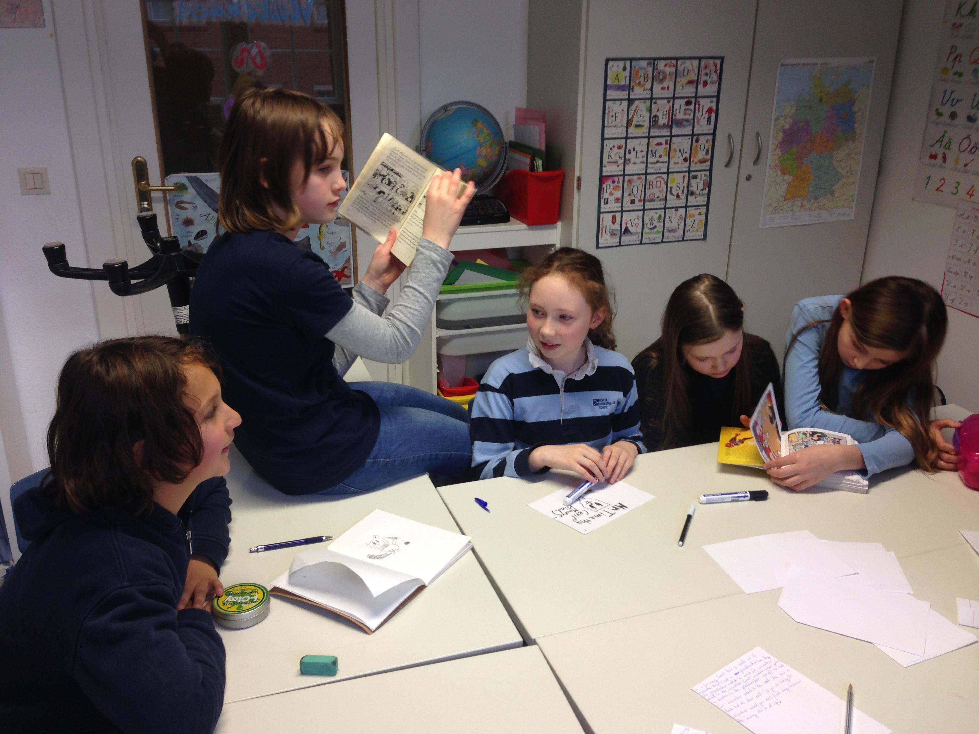 Berlin Cosmopolitan School_Extracurricular Programme_Literature