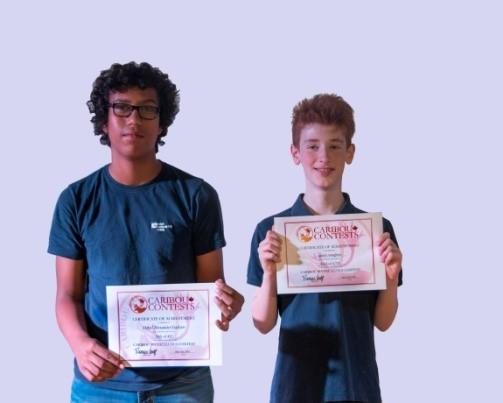 Berlin Cosmopolitan School_Caribou Math Contest_Top World Winner_Secondary