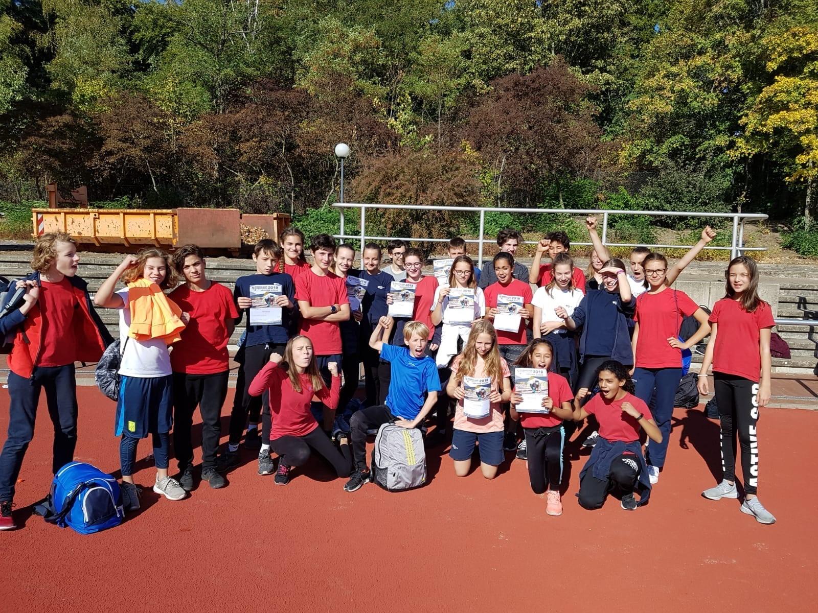 Berlin Cosmopolitan School_Secondary_Gymnasium-Berlin Schools Cross Country Run