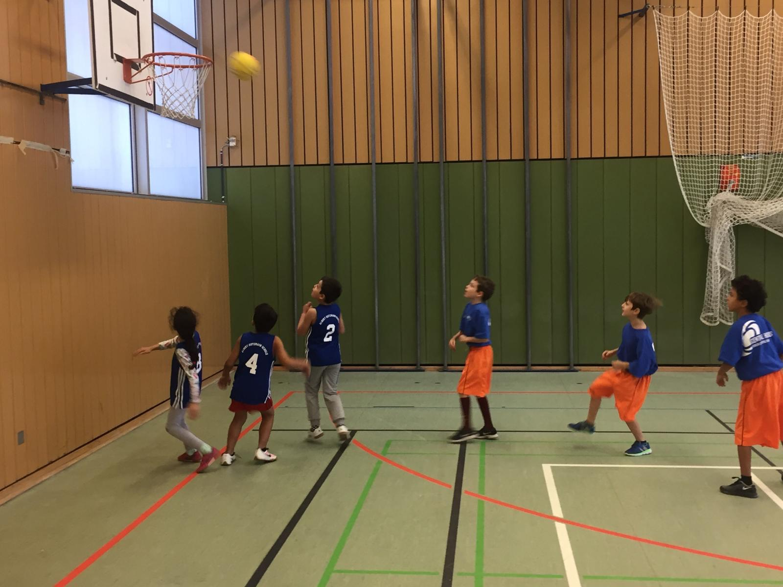 Basketball_Berlin Cosmopolitan School_Primary_Grundschule